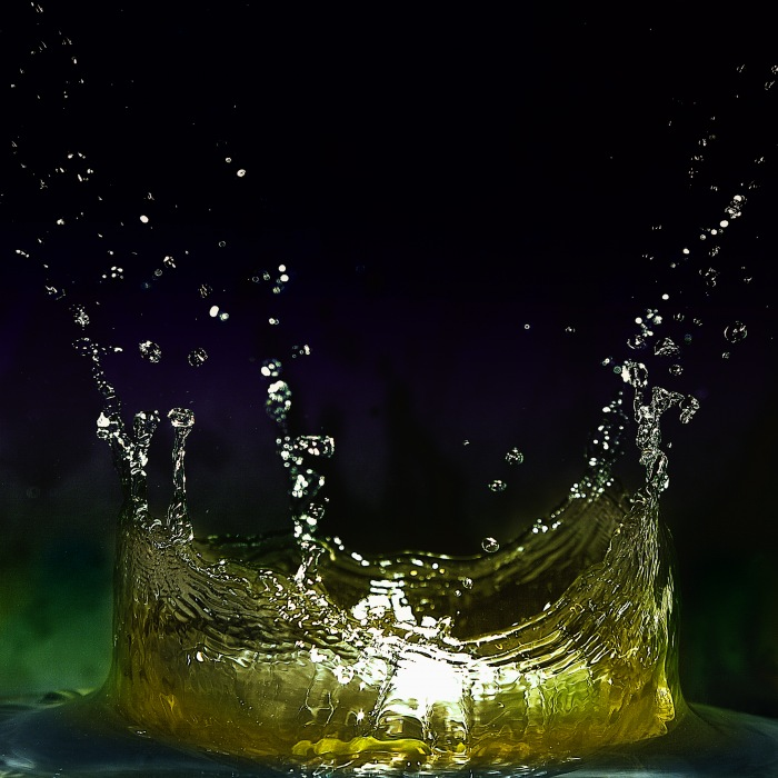 photoblog image Crown of Water